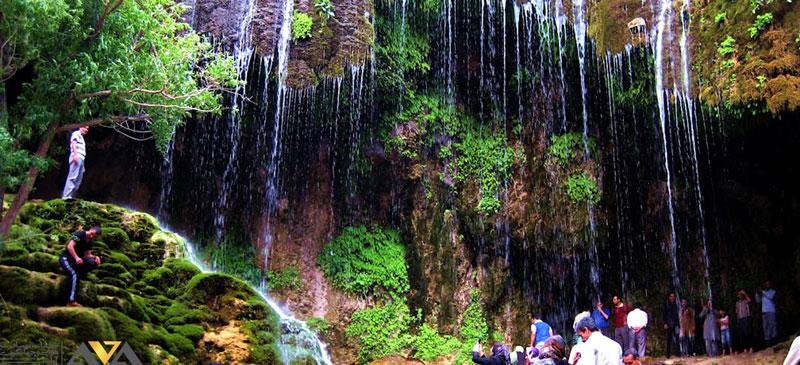 آبشار جنگل ارسباران تبریز