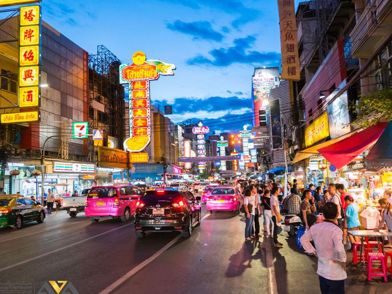 محله چینی ها بانکوک