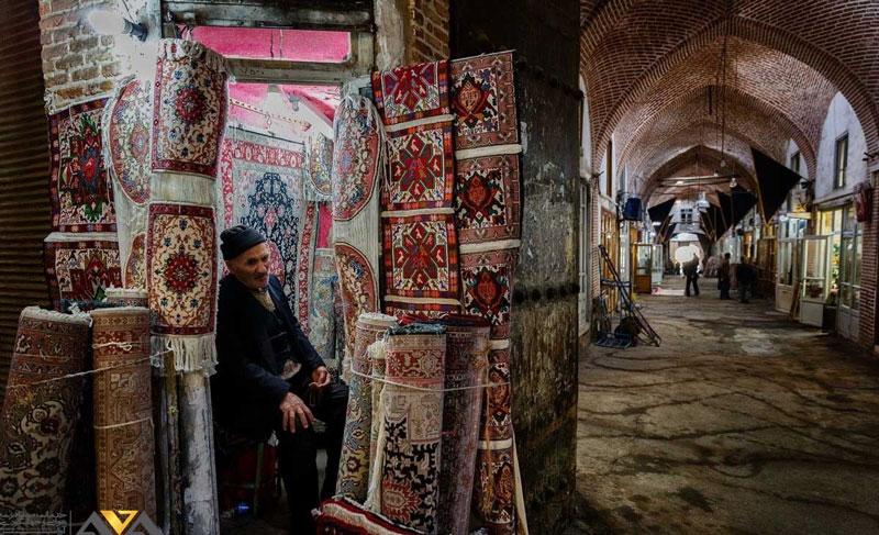 فرش های تبریزی