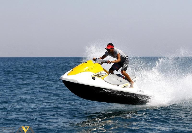 تفریحات ساحلی در جزیره کیش