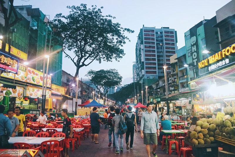 خیابان مشهور بوکیت بینتانگ