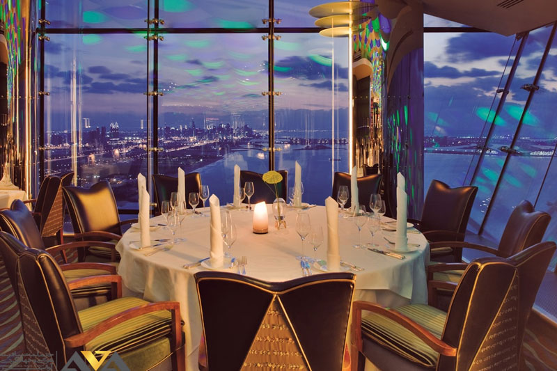 رستوران المنتها دبی
