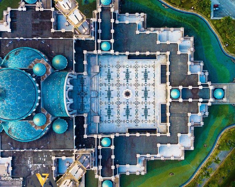 مسجد ولایت پرسکوتوان در تور مالزی